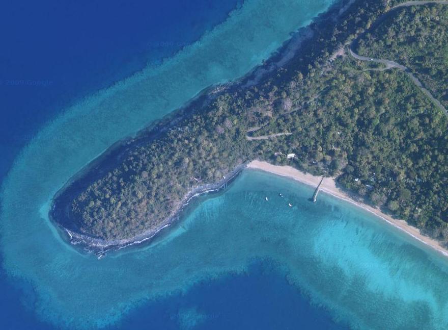 La belle plage de N'Gouja à Mayotte